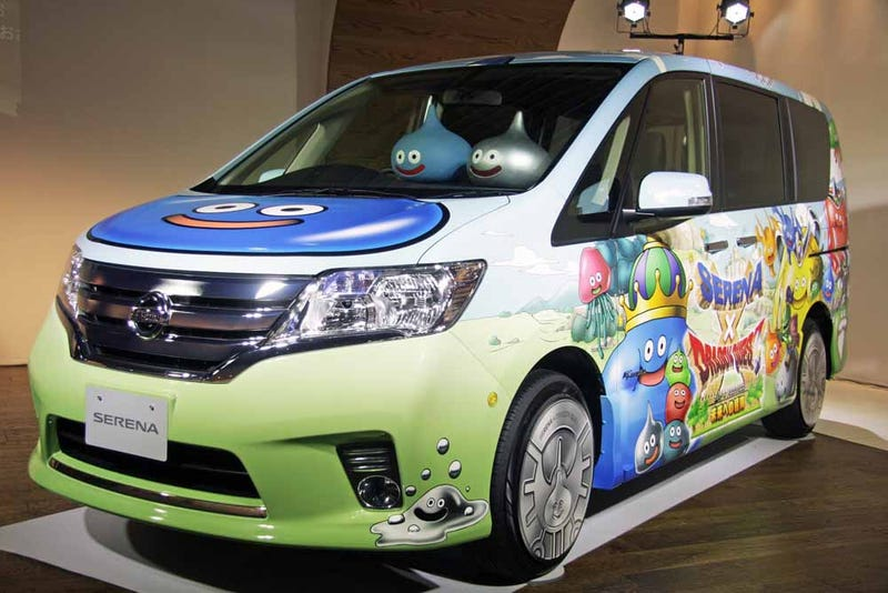 Japan's Biggest Role-Playing Game Gets its Own... Minivan