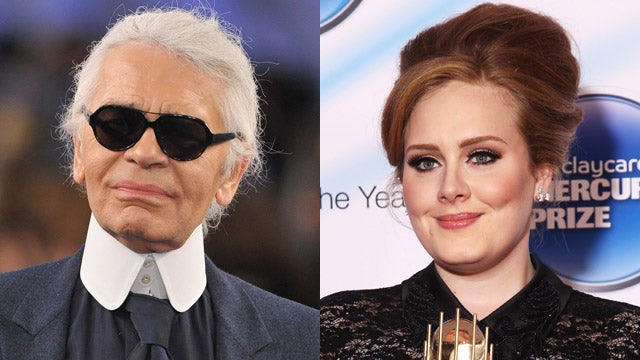 Karl Lagerfeld Says Adele Is 'A Little Too Fat'