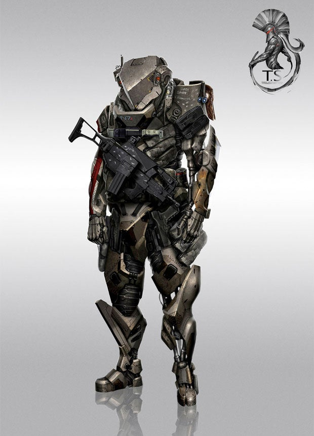 I'm Commander Shepard and This Is My Favorite Armor Redesign On deviantArt