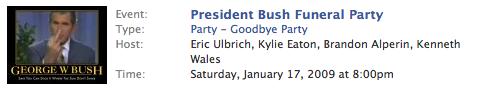 Your Weekend Plans: Burn Bush in Effigy