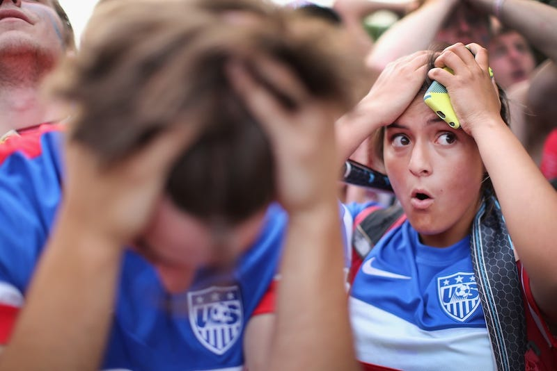 American Soccer Fans Are The Saddest Soccer Fans