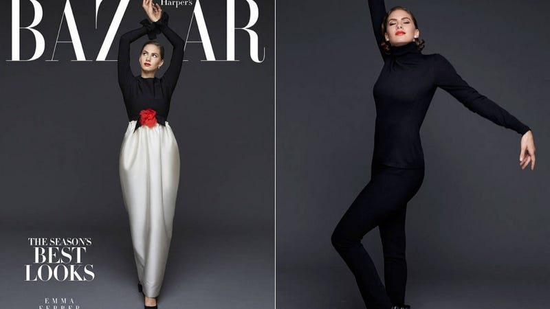 Audrey Hepburn's Granddaughter Is on the Cover of Harper's Bazaar