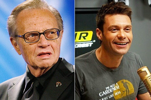 Larry King 'Doesn't Know' Piers Morgan, Would Rather See Ryan Seacrest Replace Him