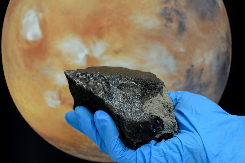 The mystery of the black Martian glass — solved at last?