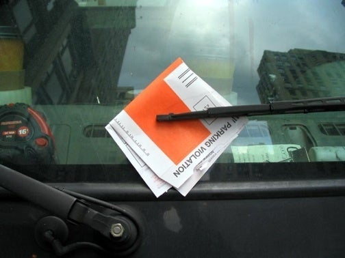 Science Determines How Fast Until Parking Tickets Fly Off Your Windshield