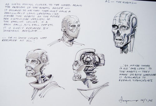 The mind-bending treasure trove of Stanley Kubrick's concept art
