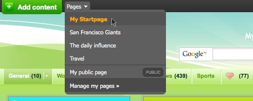 Netvibes Adds Multiple, Publish-Ready Pages