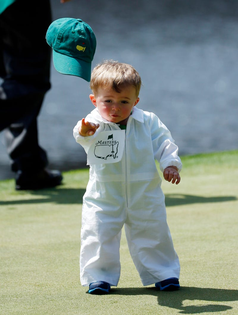 The Masters Par 3 Contest Gave Us Our New Favorite Sports Baby