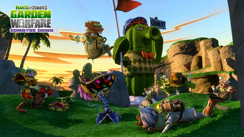 The Plants Vs. Zombies War Goes West With More Free DLC