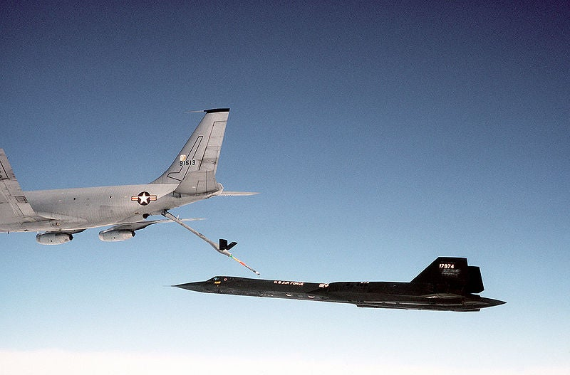 The thrill of flying the SR-71 Blackbird