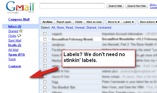 Hide the Sidebar Clutter in Gmail