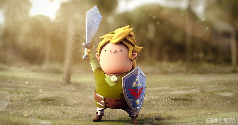 Hey Link, Lay Off The Lon Lon Milk