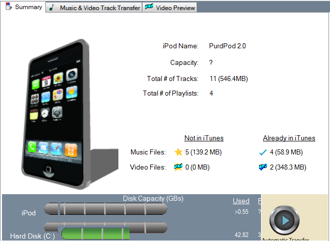 Pod to PC Transfers Music from Any iPod, iPhone Onto Your PC