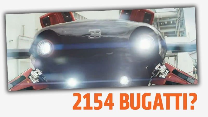 Is This Flying Car In The Elysium Trailer What Bugatti Is Teasing Us About?