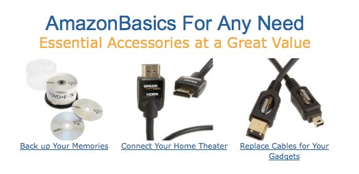 AmazonBasics Is Company's Foray Into Private Label Consumer Electronics