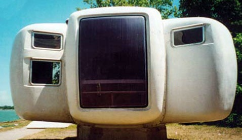 "A Plastic ""Bubble House"" from 1968"