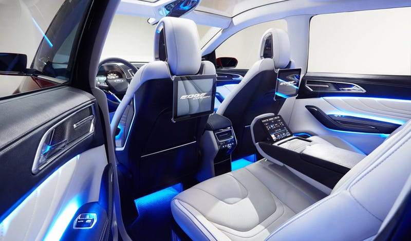 The Ford Edge Concept Can Un-Park Itself By Remote Control