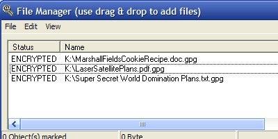 WinPT Portable Encrypts and Unlocks Your USB Drive Data