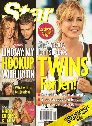 This Week In Tabloids: Angelina & Aniston Are Impregnated; Obama Is Amazing