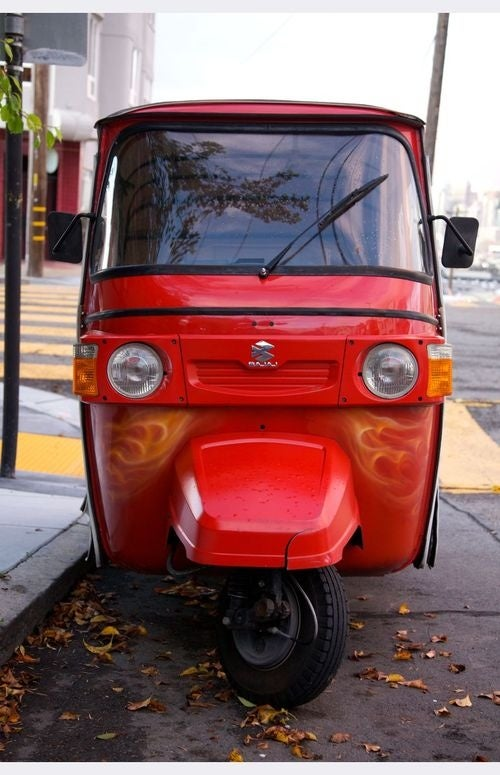 Bajaj RE4 Down On The San Francisco Street