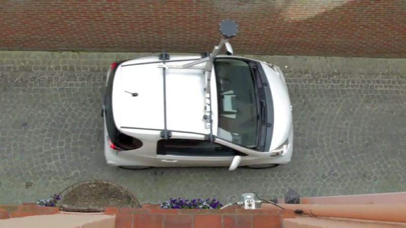 Toyota iQ Goes Where The Google Car Can't Fit