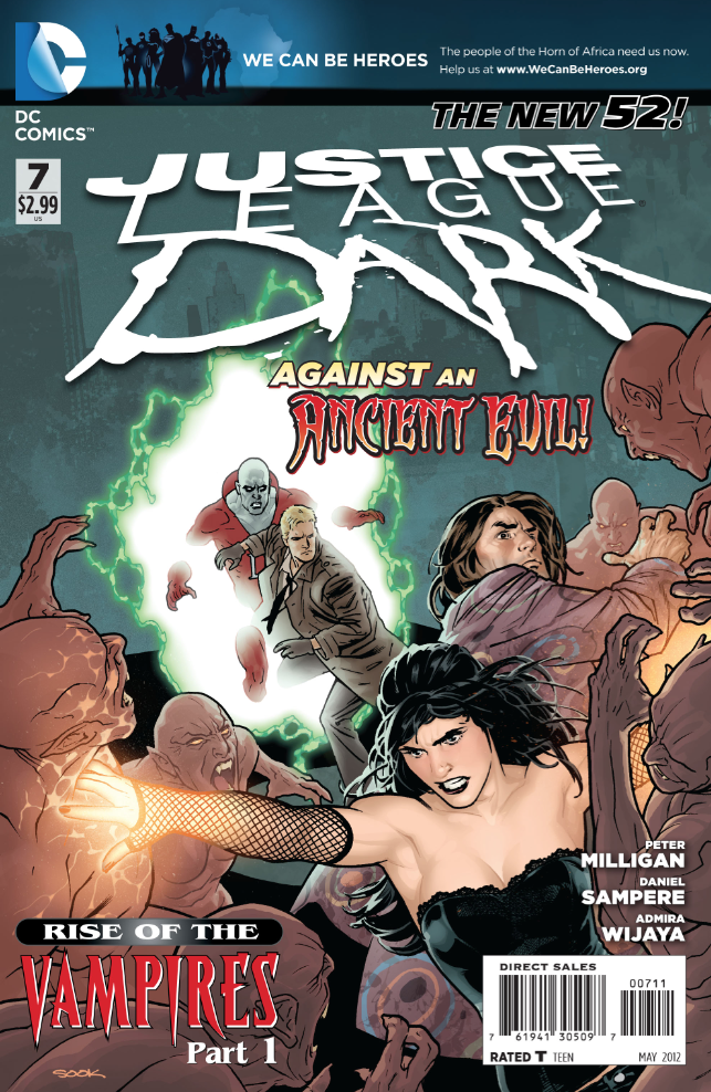 Batman's AWOL as Vampires Overrun Gotham in This Justice League Dark #7 Preview