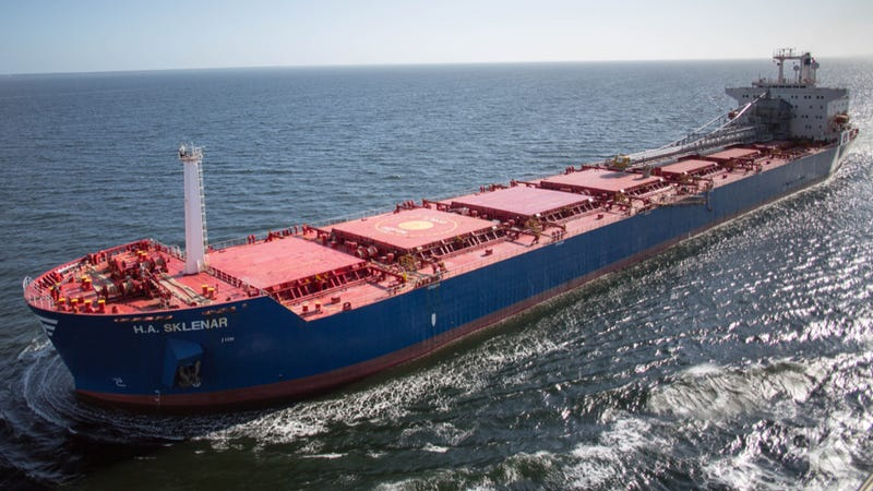 What 39 S The Biggest Ship In The World