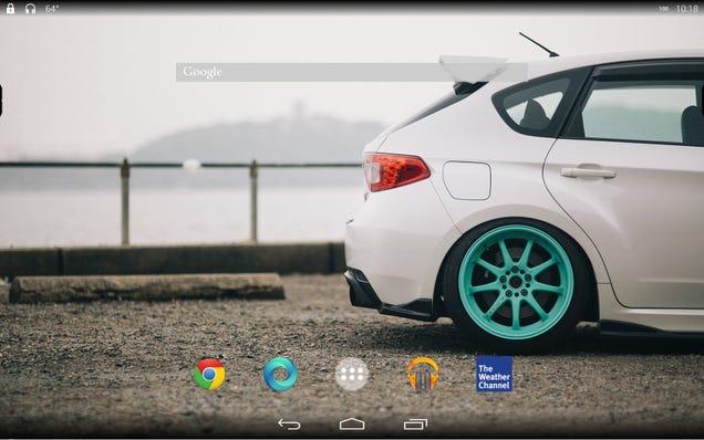 The Kit Kat Car Desktop