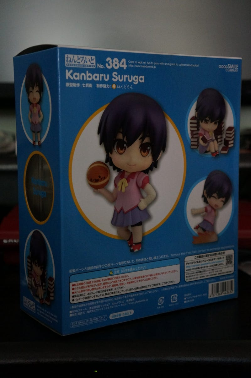 Bakemonogatari Nendoroids Triple Feature