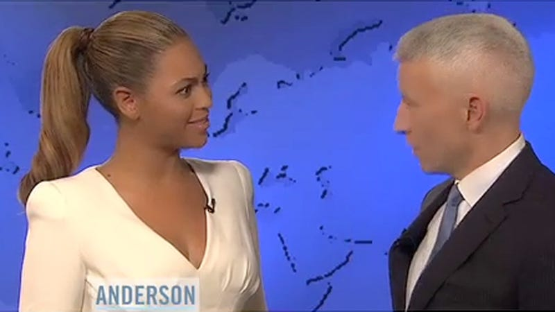 Unexpected Perk of Anderson Cooper's Coming Out: Dorky, Awkward Videos with Beyoncé
