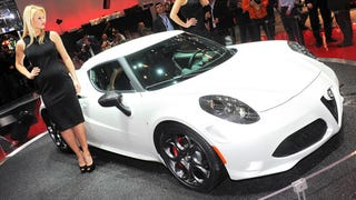 Alfa Romeo 4C: Sponsored by Volvo