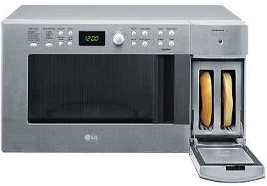 LG Mates Microwave and Toaster, Creates FrankenMicroToaster