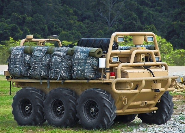 Tireless Robot Pack Haulers Deployed to Afghanistan