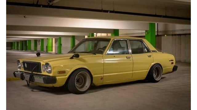 You Won't Be Mistaken For Yakuza In A Canary Yellow Cressida