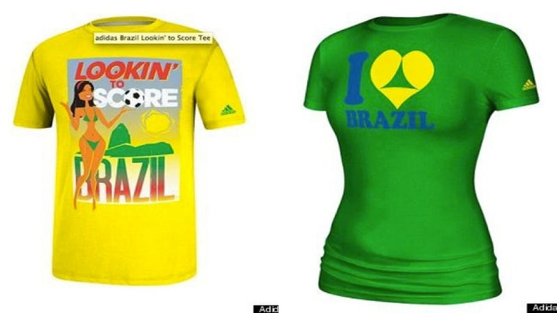 Adidas Pulls Objectifying World Cup T-Shirts at Brazil's Request