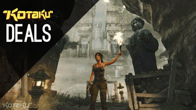 Tomb Raider For $5, Steam Credit, And More Awesome Christmas Eve Deals
