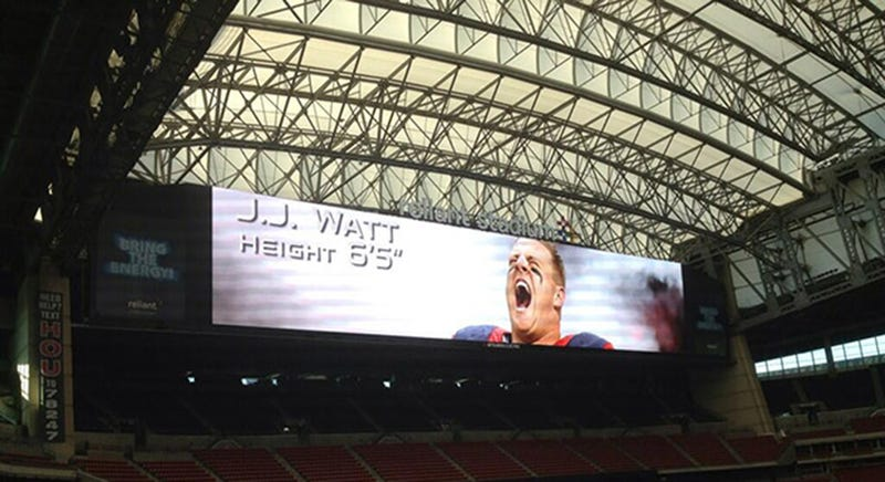 The Houston Texans Now Have the Biggest Jumbotron in the NFL