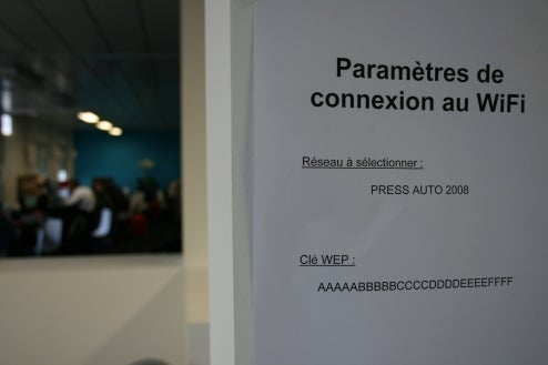 Top Ten Reasons The Paris Auto Show Press Room Sucks