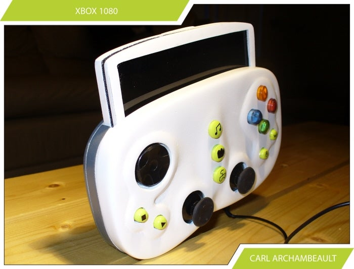 Concept: Xbox 1080 Portable Looks Like Blaster from Transformers