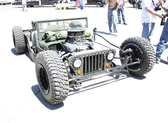 Hot Rod Jeep? Yes, Please.