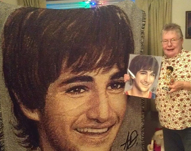 Look At This Gigantic Ricky Rubio Blanket Someone Received For Christmas