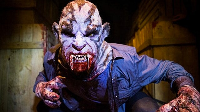 Grimm is back with a giant Kitty Man and massive blood lust
