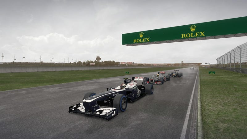 Anyone else playing F1 2013?