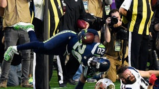 Jeremy Lane's INT Came At A Cost: This Very Gross Injury