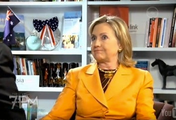 Hillary Clinton's Most Charming Interview Ever