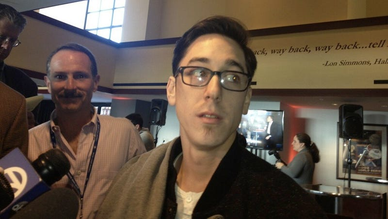 Tim Lincecum Cut Off All His Hair