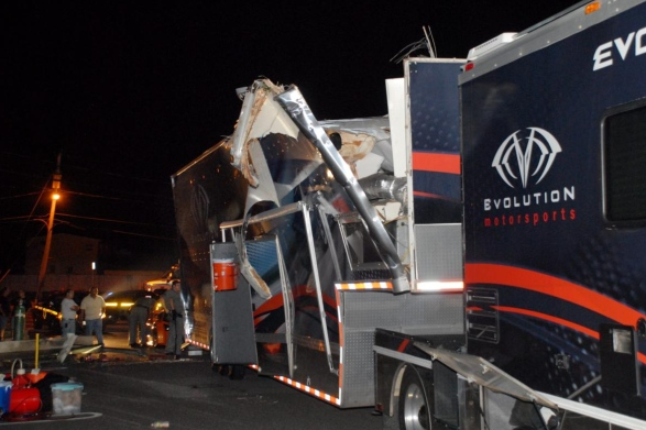 Supercar-Carrying Truck Crashes On Long Island
