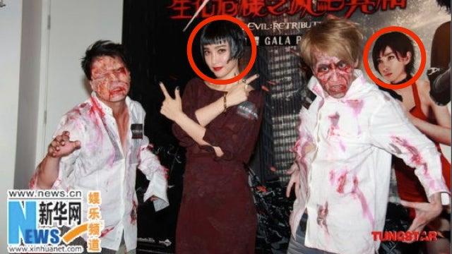 I See Lots of Milla Jovovich, But Not Much Bingbing Li