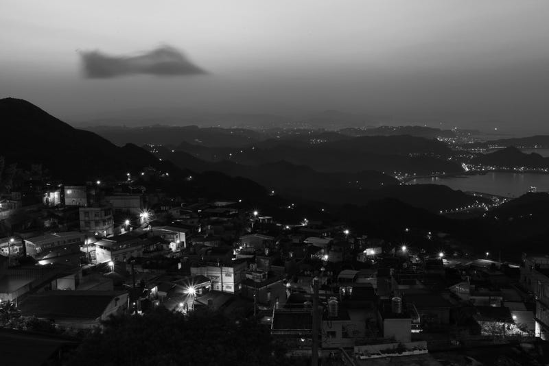 Shooting Challenge: Black & White, Night