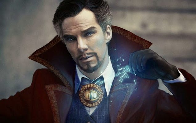 Benedict Cumberbatch Trolls Comic-Con With A Dr. Strange Joke